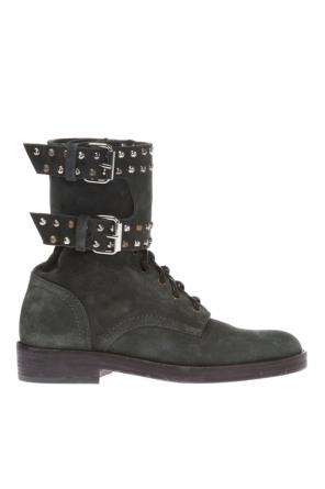 Studded high ankle boots od Isabel Marant